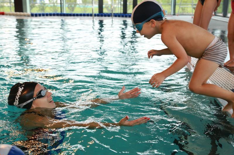 Natation enfants 3 12 ans cours apprentissage for Clamart piscine